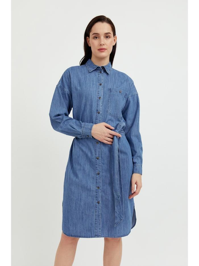 finn flare - Jeanskleid in Midilänge  blue