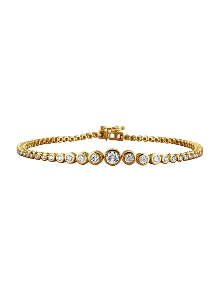 Armband Diemer Diamant Geelgoudkleur