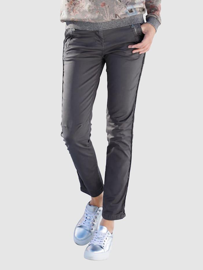 Pantalon chino Smith & Soul Gris foncé