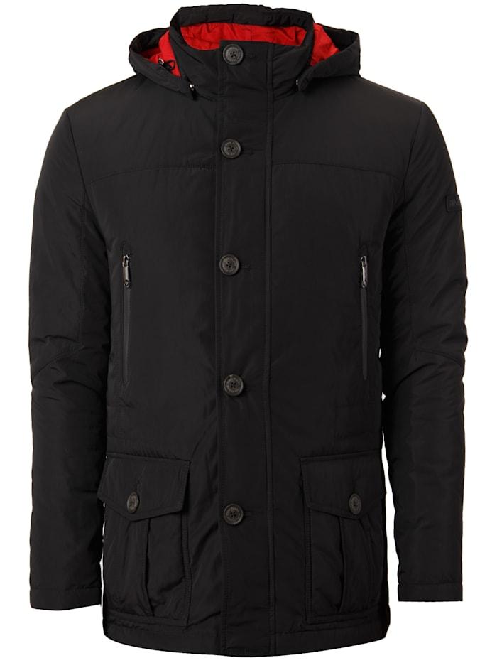 finn flare - Daunenjacke in sportlichem Design  black