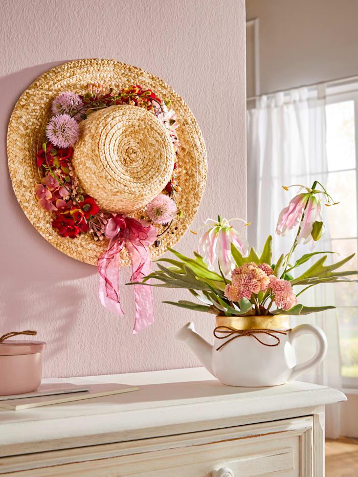 Chapeau de paille décoratif KLiNGEL Multicolore