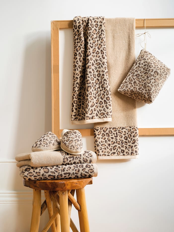 Handdoeken ANIMAL Kleinmann beige