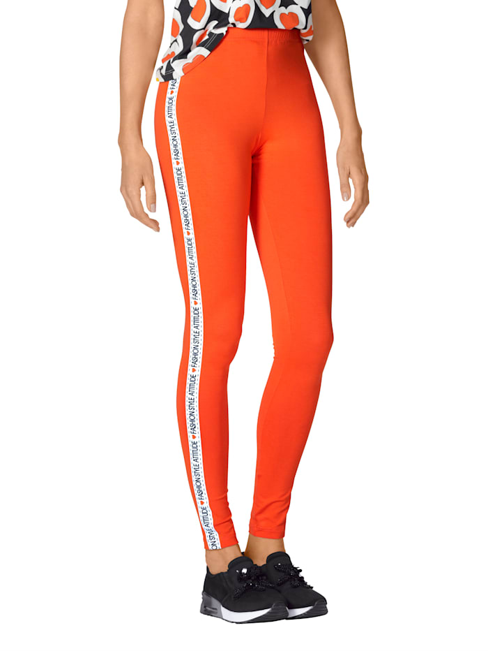 Legging AMY VERMONT Oranje