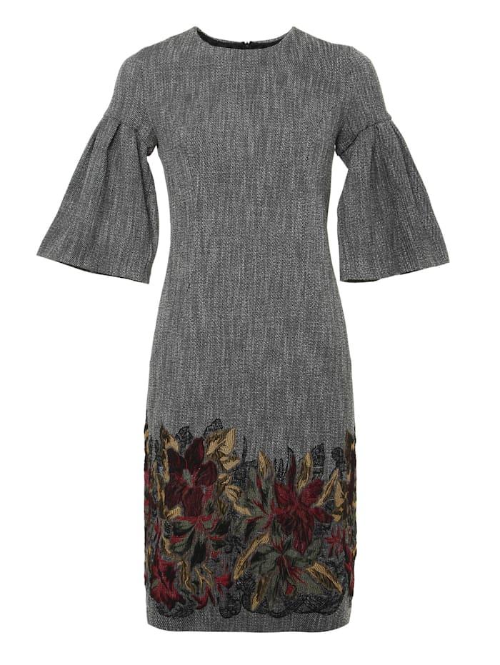 madam-t - Alltagskleid Kleid Dega  grau, gelb