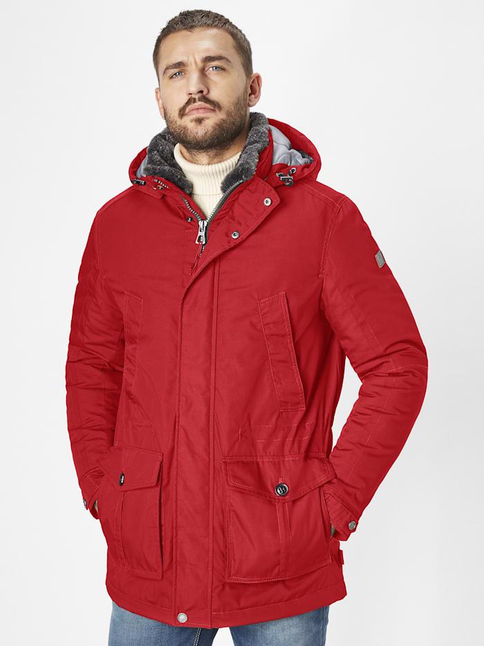 redpoint - warme Winterjacke Eric  red