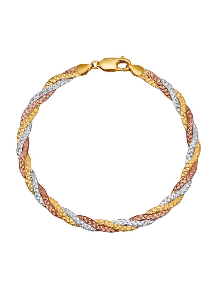 Image of 3rhg. Armband Amara Gold Multicolor
