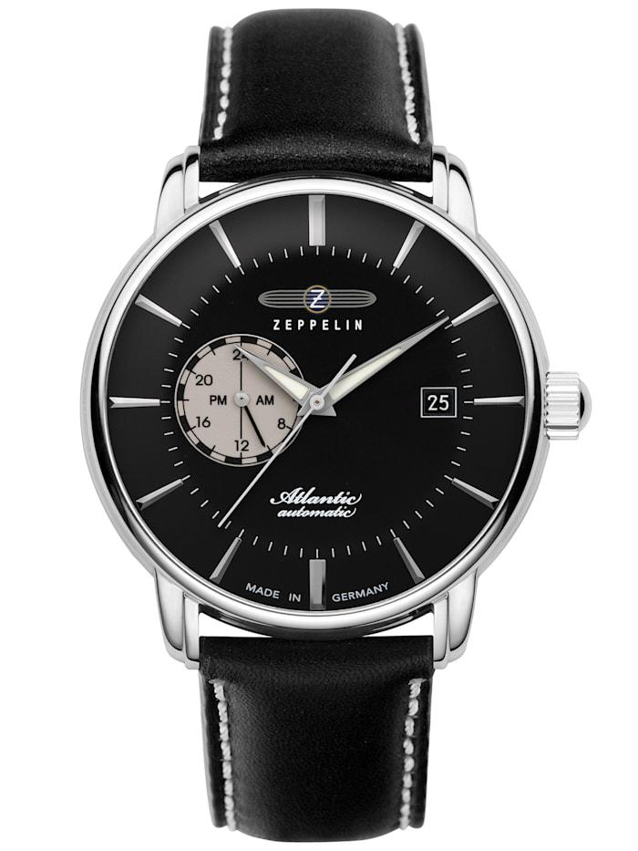 zeppelin - Herren-Armbanduhr Atlantic 24h Automatik 8470  schwarz