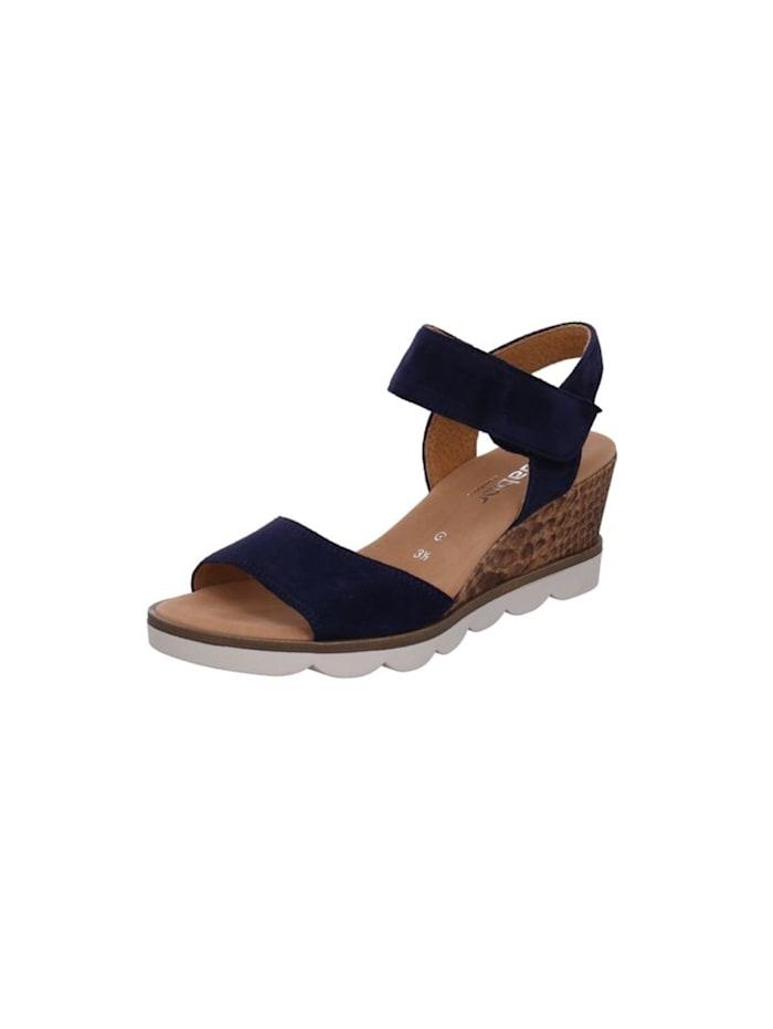 gabor - Sandalen/Sandaletten  blau