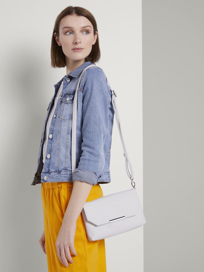 tom tailor denim - Clutch Kenza  white