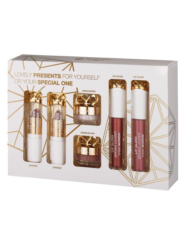 Geschenkset Lovely Lips KTN Dr. Neuberger Goudkleur