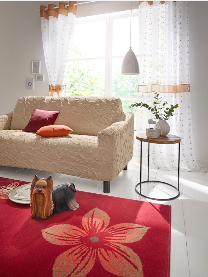 Elastische meubelhoezen Webschatz ecru