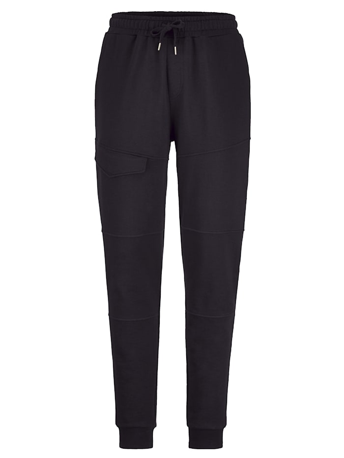 Jogginghose Men Plus Schwarz