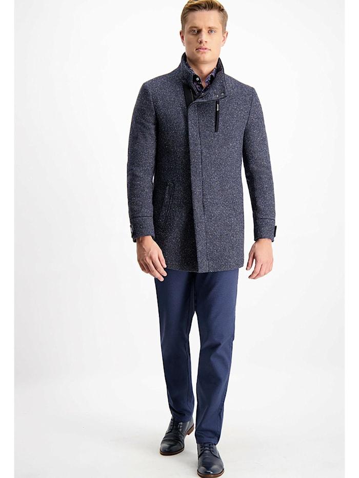lavard - Mantel aus Schafwolle, Lammwolle, Seide und Kaschmir  blau