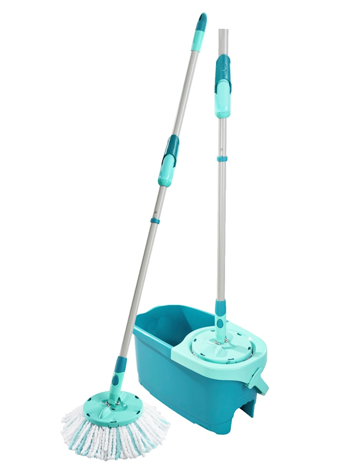 LEIFHEIT Set 'CLEAN TWIST Disc Mop Ergo' Leifheit türkis
