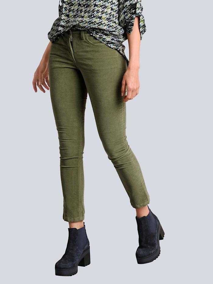 Broek Alba Moda Groen
