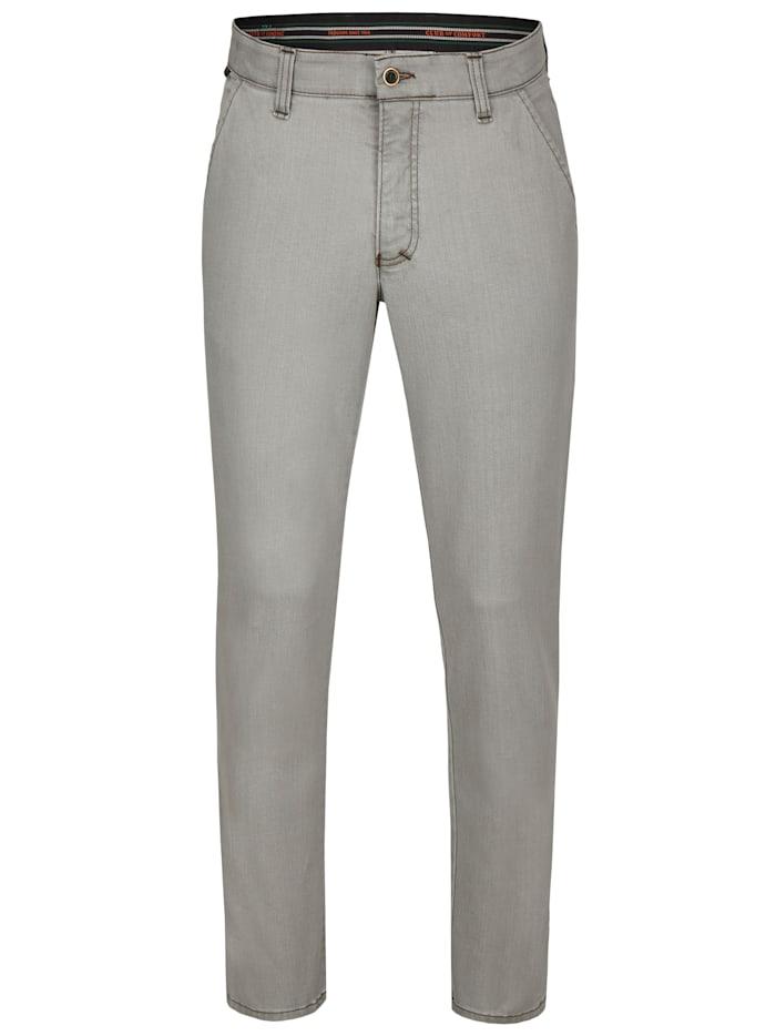 club of comfort - Jeans GARVEY 7054 mit elastischem Komfortbund  grau (4)
