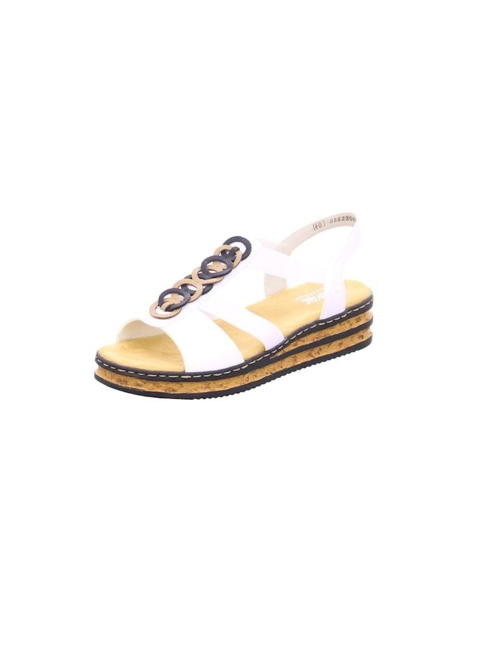 rieker - Sandalen/Sandaletten  weiß