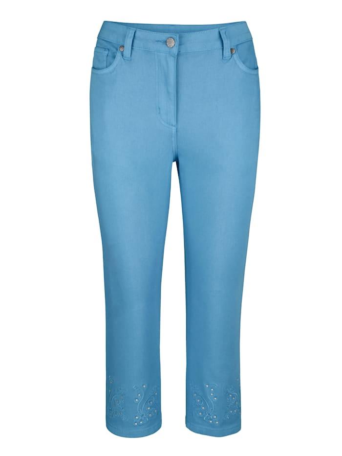 Capri-jeans MONA Lichtblauw