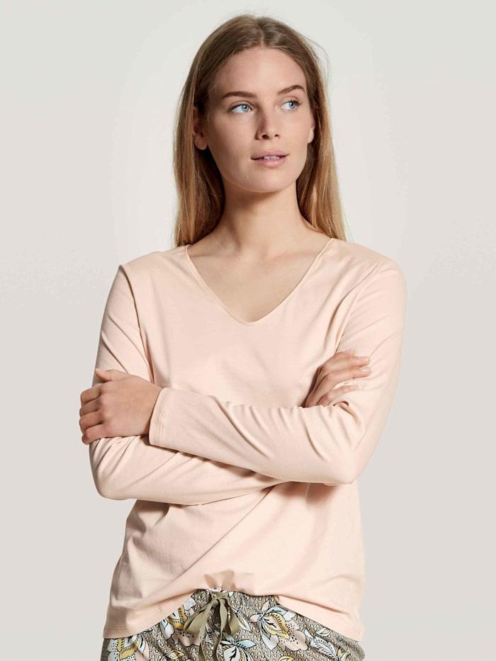 calida - Langarm-Shirt, V-Neck  lace parfait