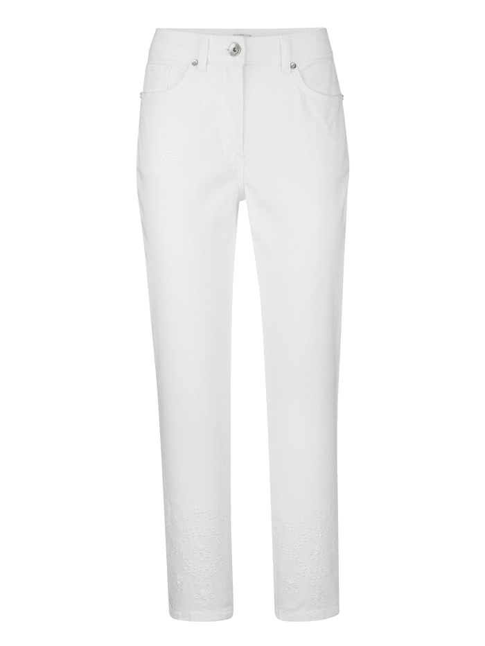 Jeans MONA Wit