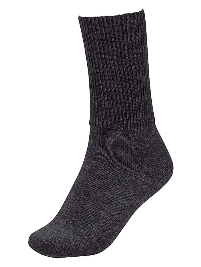 Alpaka Socken Heller Vertrieb schwarz