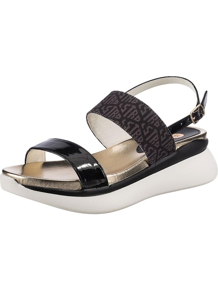 la strada - Klassische Sandaletten  schwarz