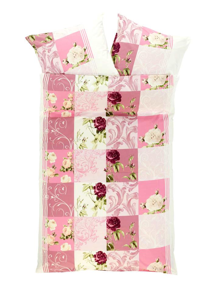 2-delige bedlinnen Selina Webschatz roze