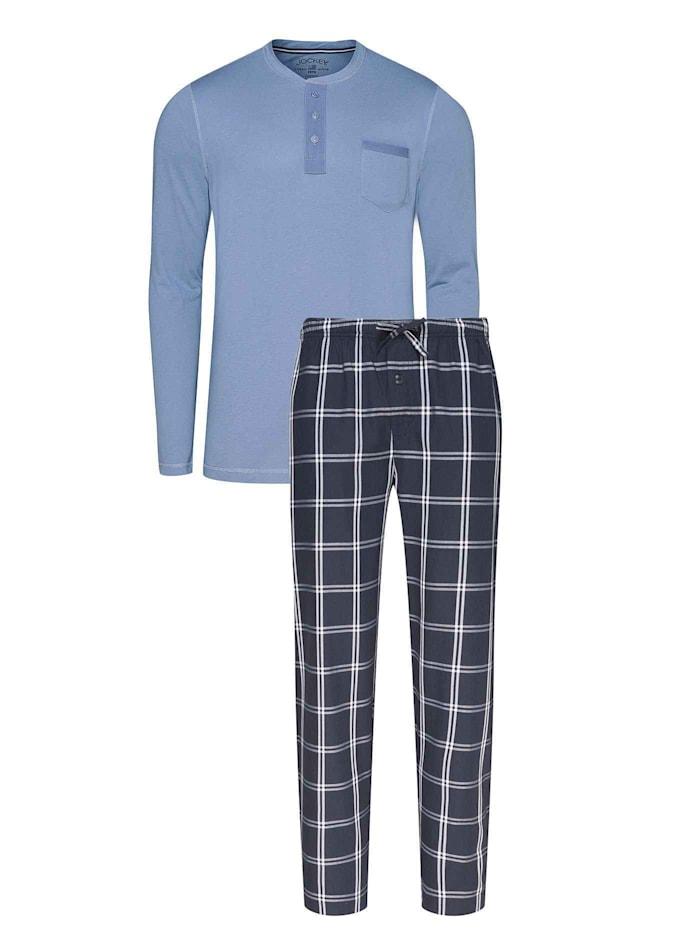 jockey - Pyjama mit Twill-Hose  denim