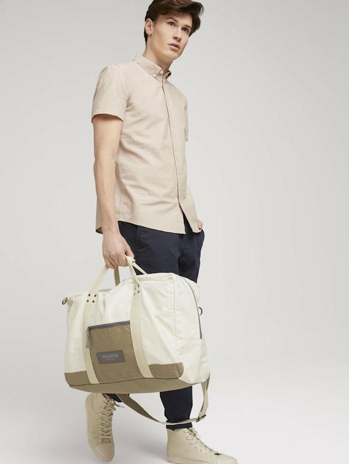 tom tailor denim - Ben Utility Reisetasche aus Nylon  off white / off white