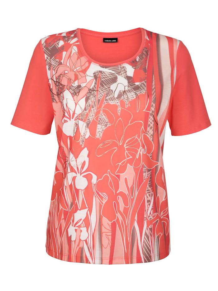 Shirt Barbara Lebek Koraal::Goudkleur