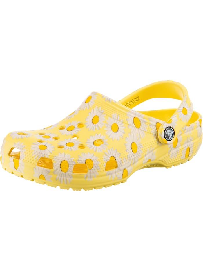 crocs - Classic Vacay Vibes Clog Clogs  gelb-kombi