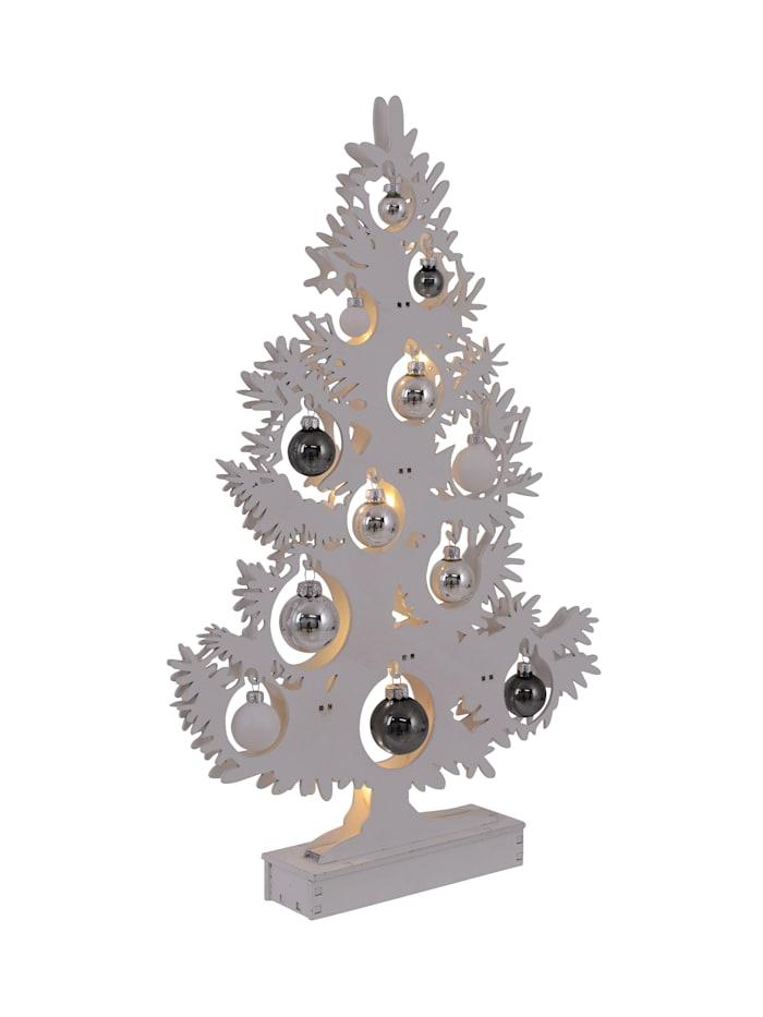 LED-Deko-Weihnachtsbaum Näve Natur