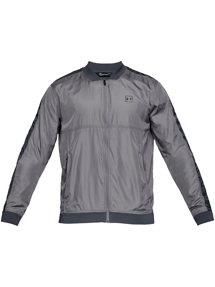 under armour - Windbreaker Sportstyle Wind Bomber  grau