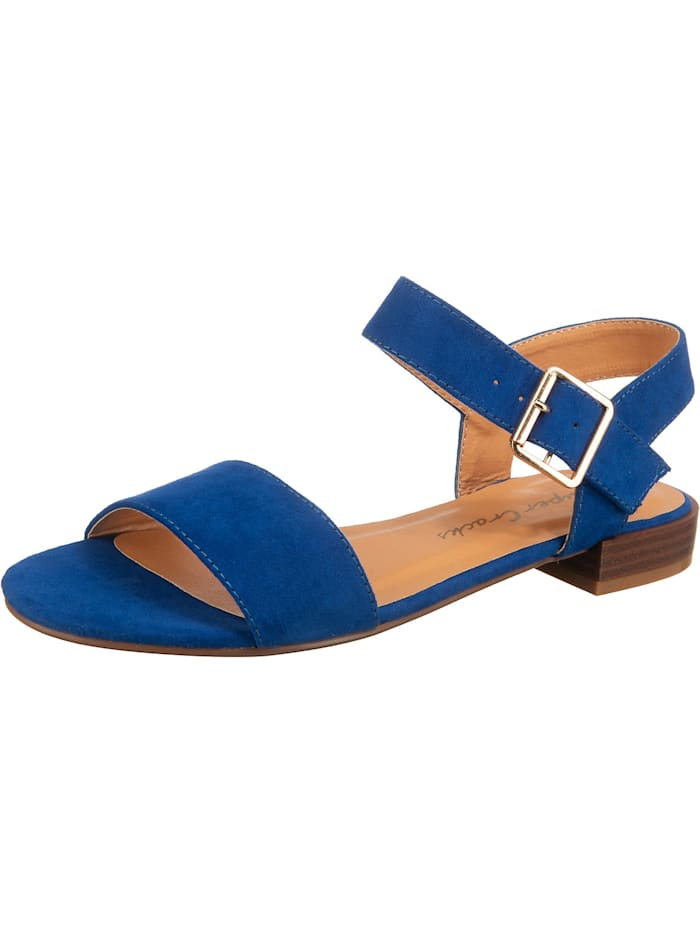 supercracks - Dedi Riemchensandalen  blau