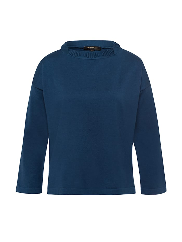 more & more - Pullover, ink blue  blau