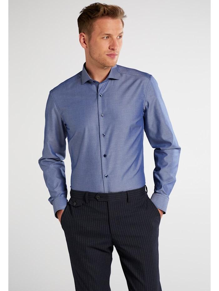 eterna -  Langarm Hemd SLIM FIT  blau