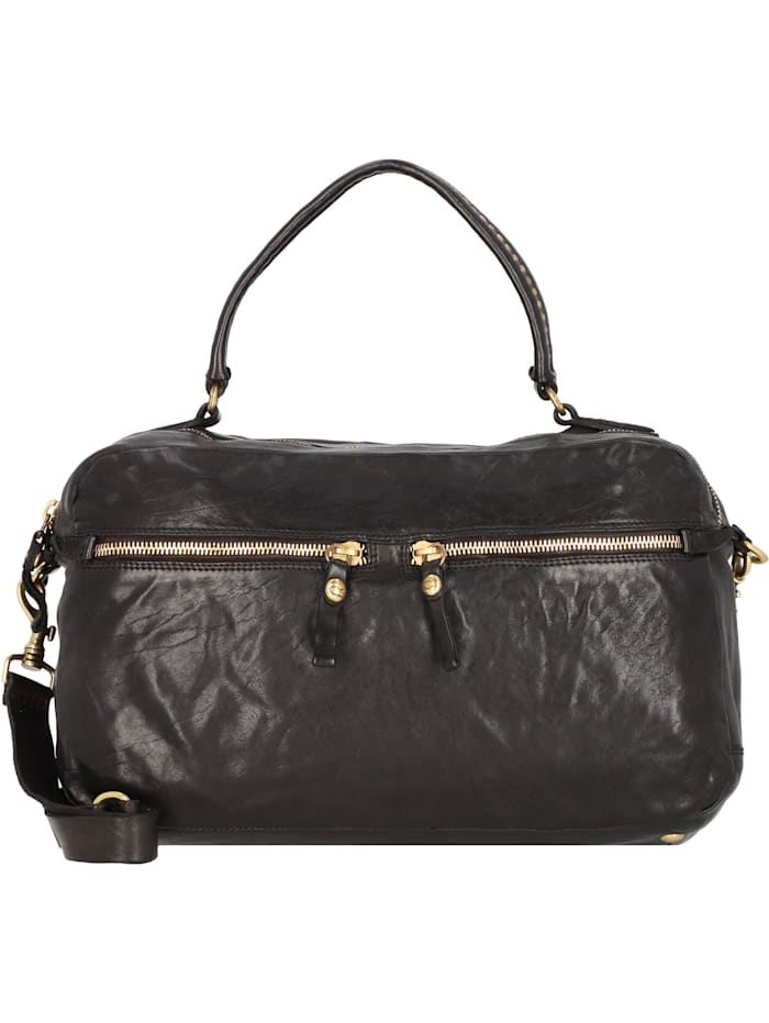 campomaggi - Handtasche Leder 41 cm  nero