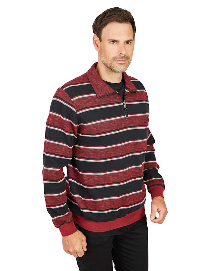 Sweatshirt Hajo rot