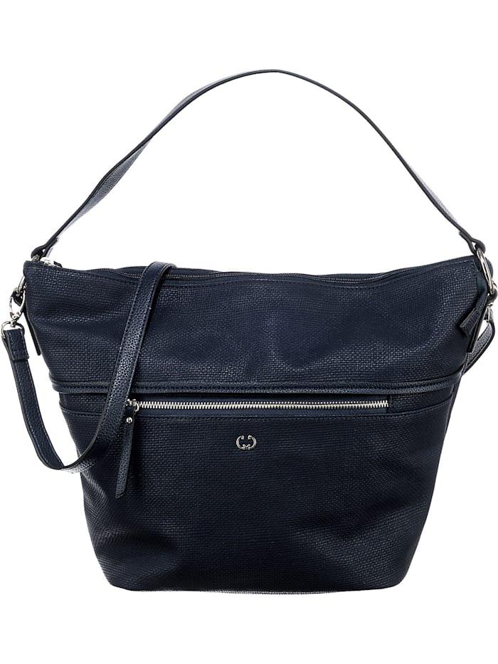 gerry weber - Higher Hobo Mhz Handtasche  dunkelblau