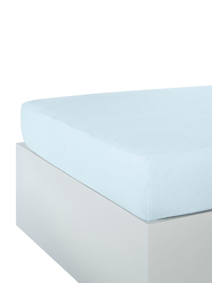 Hoeslaken Webschatz blue