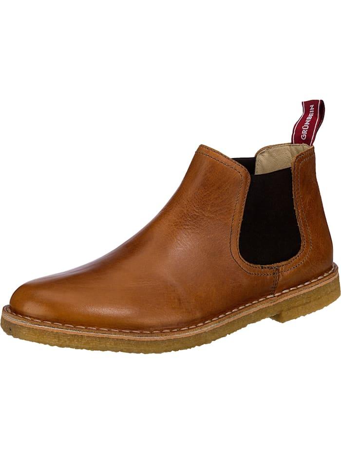 grünbein - Reto Chelsea Boots  camel
