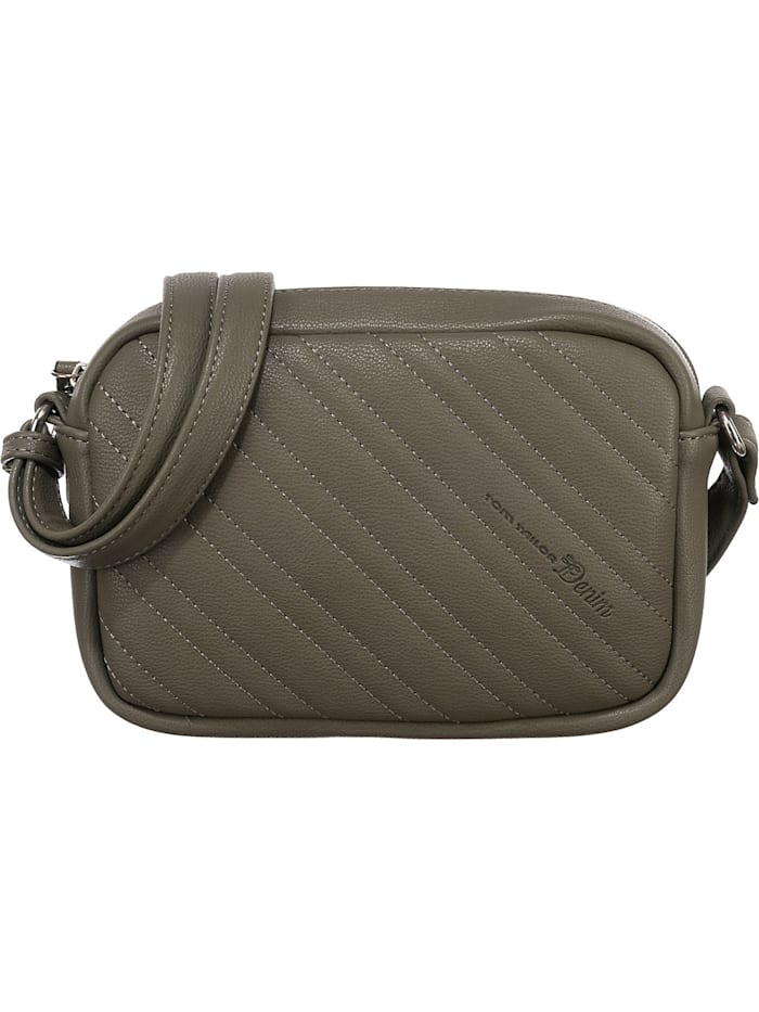 tom tailor - Linda Cross Bag M Umhängetasche  grün