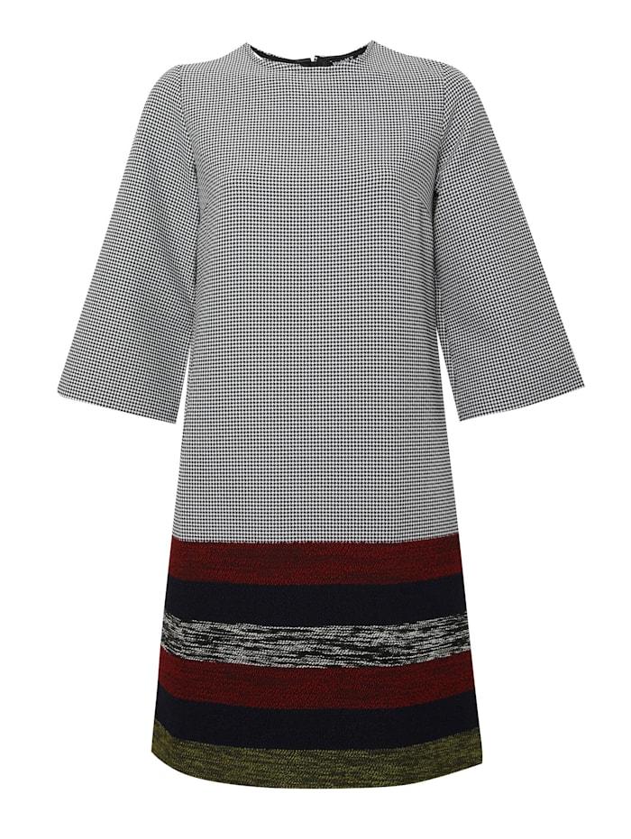 madam-t - Alltagskleid Kleid Milanika  grau, rot