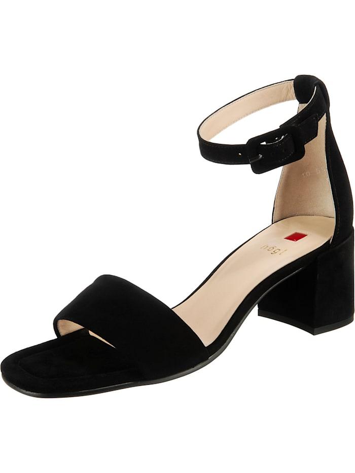 högl - Klassische Sandaletten  schwarz
