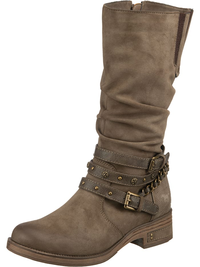 mustang - Schnürstiefel  taupe