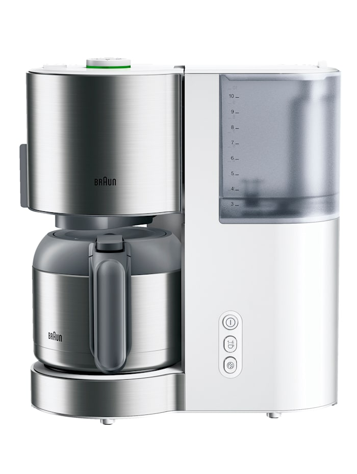 Kaffeemaschine ID Collection KF 5105 WH Braun weiß
