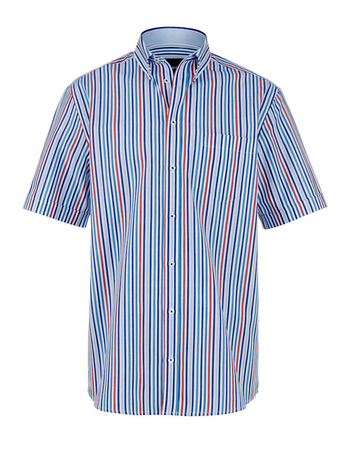 Overhemd BABISTA Wit::Blauw::Rood