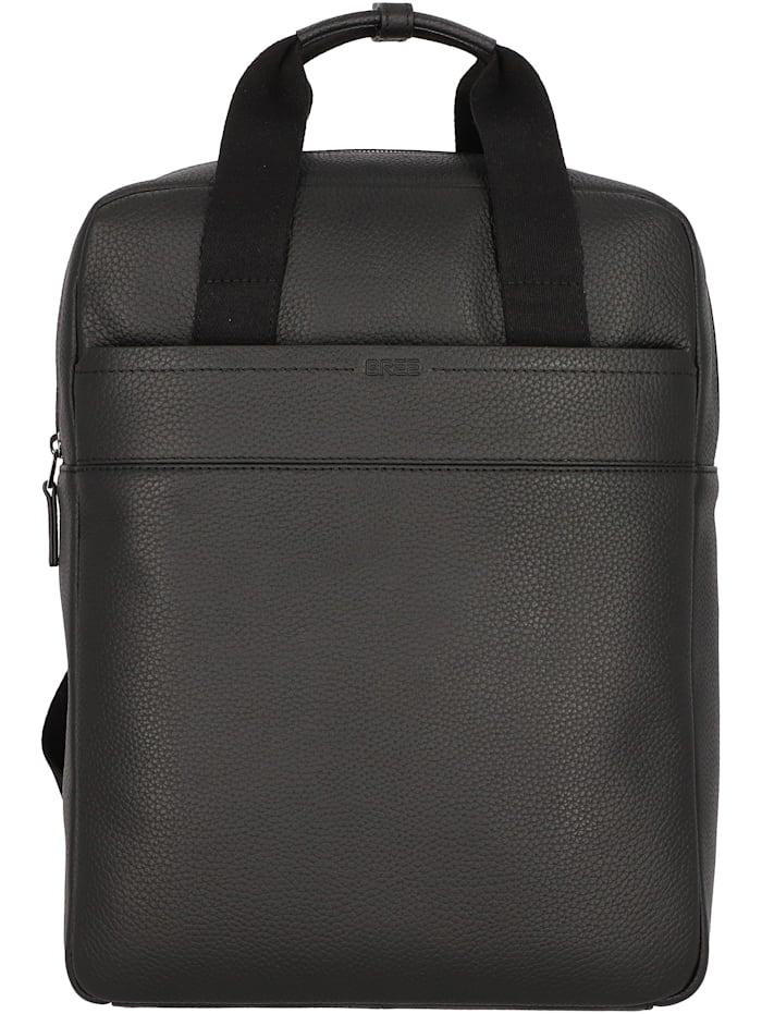 bree - Aiko 4 Rucksack Leder 39 cm Laptopfach  black