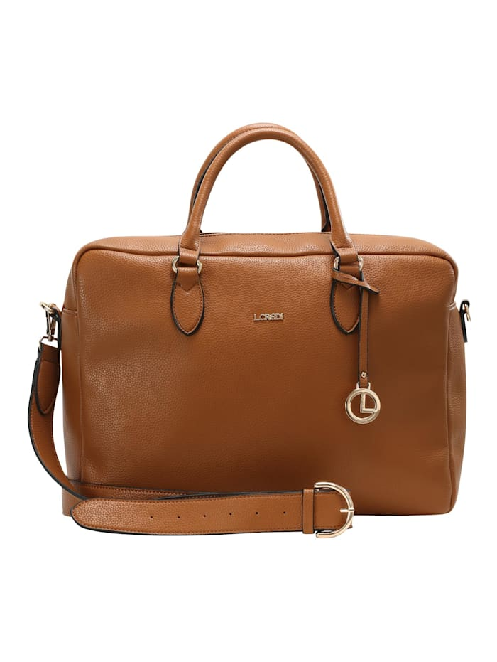 l.credi - Messenger Bag Ella Messenger Bag  cognac