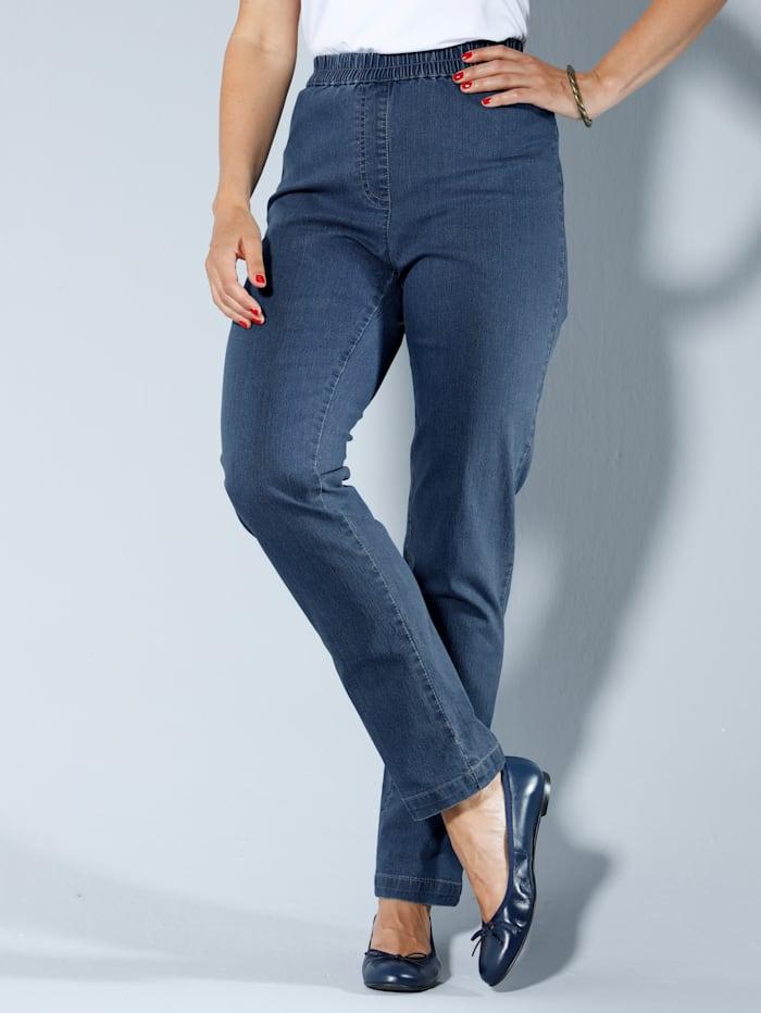 Jeans MIAMODA Blue bleached